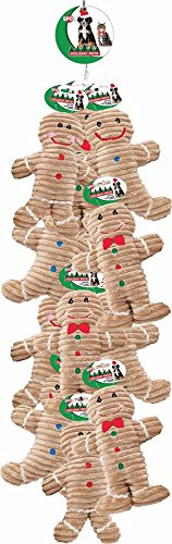 ETHICAL CHRISTMAS 5445RP 689535 Holiday Cordoroy Gingerbread Rope Out-Season Assorted Toy