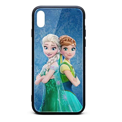 (Moromly Anti-Scratch iPhone X/XS Max Case 9H Tempered TPU Glass Back)
