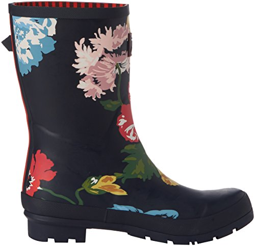 Joules Mollywelly - Botas de Agua Mujer Blue (French Navy Posy)