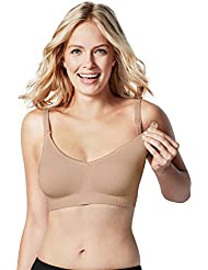 BRAVADO! DESIGNS Women's Body Silk Seamless Nursing Bra and Maternity Bra, XS - XXL