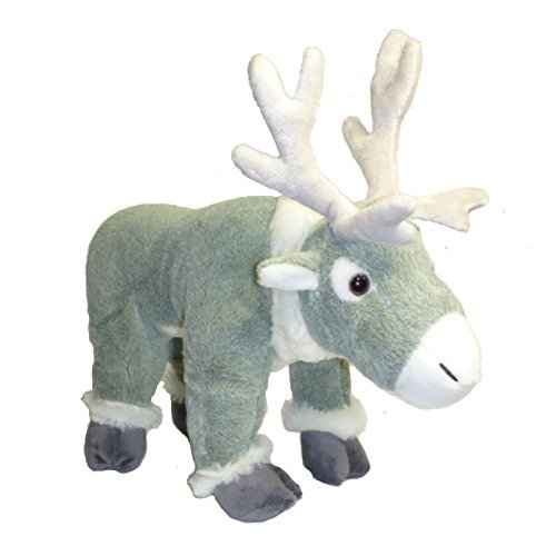 "Price comparison product image ADORE 14"" Standing Tundra the Reindeer Plush Stuffed Animal Toy"