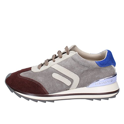 Marrone Grigio 38 EU Fornarina Donna Sneakers Camoscio Fashion SwCFBBYqUa