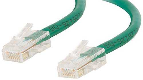 - C2G 26688 Cat5e Crossover Cable - Non-Booted Unshielded Network Crossover Patch Cable, Green (10 Feet, 3.04 Meters)