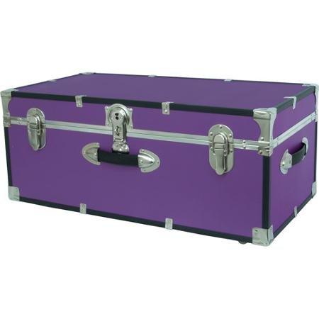 Mercury Luggage Seward Trunk Wheeled Storage Footlocker, 30u0026quot; ...