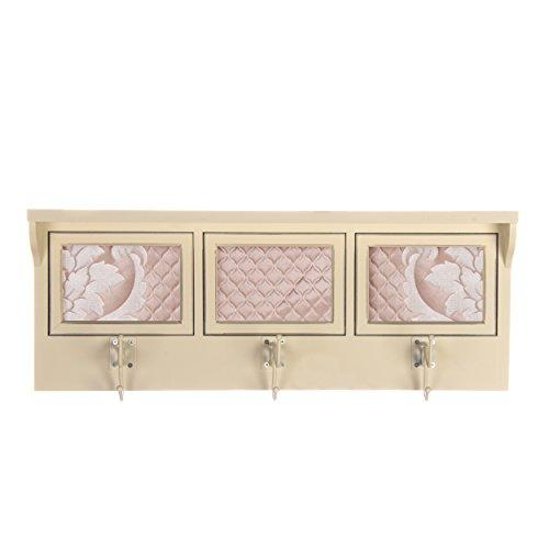Glenna Jean Angelica Photo Hanger Shelf, Pink, ()