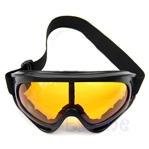 Gafas Frame 8cm ojo Lamdoo Transparente Oscuro height gafas motocicleta sol antipolvo snowboard Marrón de esquí de fHHpdxP