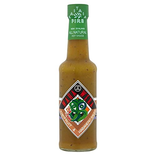 Kaitaia Fire Waha Wera Kiwifruit & Habanero Sauce (150ml) - Pack of 6 by Kaitaia Fire