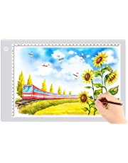 $21 » Ultra-Thin Portable LED tracing Light Box Dimmable Brightness LED Art Tracing Pad for Artist Drawing Sketching Animation Stencilling and 5d Diamond Painting