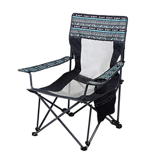 YAXIAO-Folding chair Outdoor Leisure Portable Folding Chair Recliner Chair Siesta (53 53 91cm)