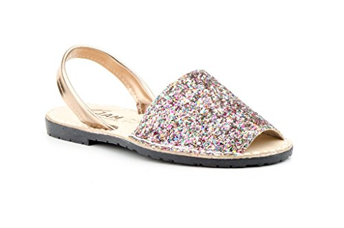 Jam - Sandalias de vestir de Con Cuentas para mujer Multicolor