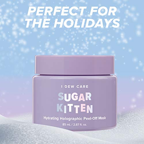 I DEW CARE Sugar Kitten Peel-off Mask   Hydrating Face Mask with Hyaluronic Acid to Illuminate and Revitalize Skin…