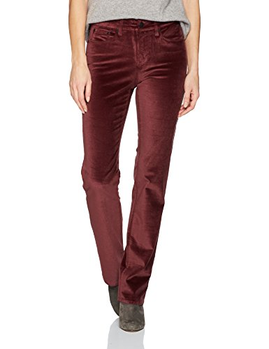 Velveteen Straight Leg Pants - 1