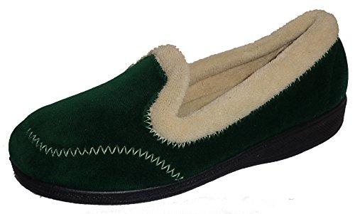 Tailles Antidérapant Couleur Vert Mirak Femme 4 Pantoufles Style Sur Maier 6U8qx5U