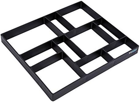 Moule pour chemin, 10 grilles 43,2 x 39,9 x 4,6 cm en plastique pour ...