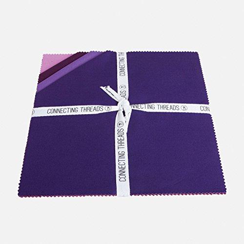 (Connecting Threads Color Wheel Premium Precut Fabric Bundle (Summer Garden 10