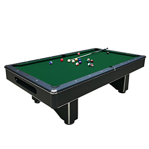 Harvil Galaxy Slate Pool Table 8-Foot with Green Felt Includes On-Site Delivery, Professional Installation and Accessories