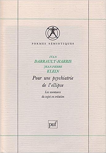 Livre Pour une psychiatrie de l'ellipse pdf