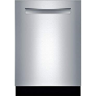 Bosch SHP865WD5N 500 Series Built In Fully Integrated Dishwasher with 5 Wash Cycles (Stainless Steel)