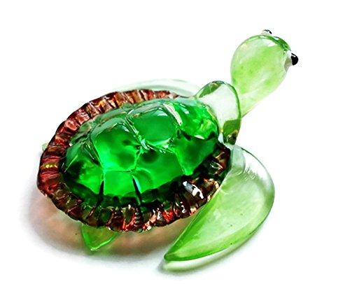 Green Blown Glass Pendant Light