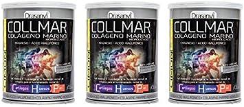 COLLMAR Colágeno hidrolizado con limón + magnesio + vitamina ...