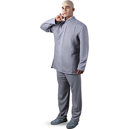 Men's Dr. Evil Costume, Xlarge