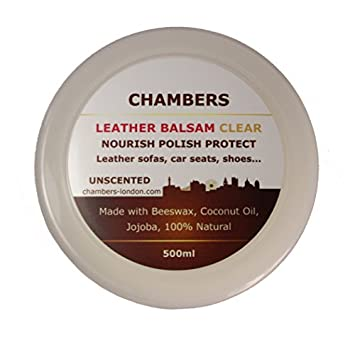Amazon.com: Chambers Leather Natural Balsam Conditioner and Restorer ...