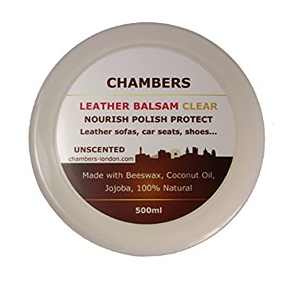 Amazon Com Chambers Leather Natural Balsam Conditioner And Restorer
