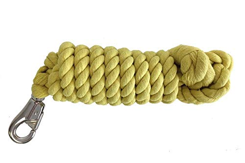 AJ Tack Wholesale Horse Lead Rope Cotton Twisted 10' x 3/4