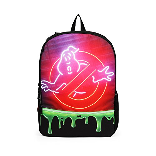 Mojo Ghostbusters Slime Fashion Green 16 Inch Backpack -