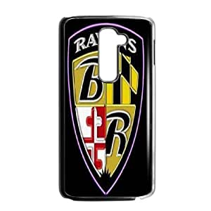 LG G2 Phone Case Black Baltimore Ravens VAN5124993