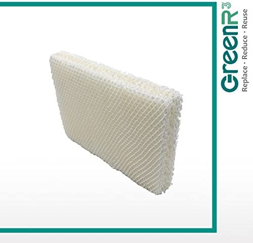 GreenR3 4-Pack Replacement Wick Filters for Vornado MD1-0002 Fits Vornado MD1-0002 MD10002 MD10001 MD1-0001 EVAP1 EVAP2 EVAP3 Model 30 Model 40 Model 50 Humidifiers