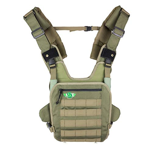Baby Carrier for Men Front Baby Holder for Dad | Army Style Design | Front and Rear Facing Baby