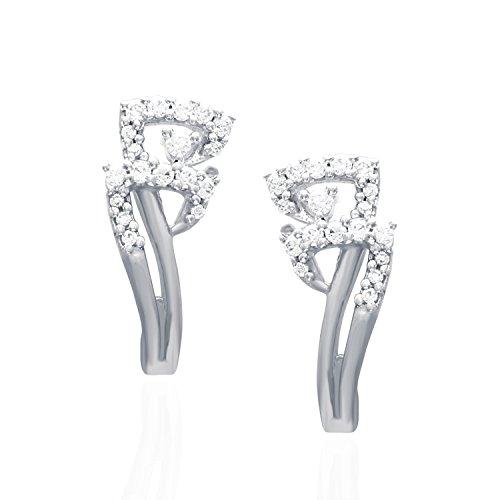 Giantti 14carats Diamant pour femme Boucles d'oreille à tige (0.1874CT, VS/Si-clarity, Gh-colour)