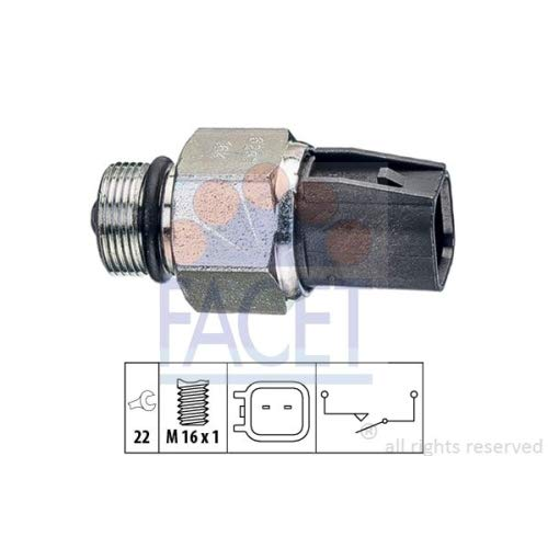 Facet 7.6267 Switch, reverse light