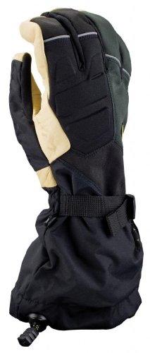 KLIM Togwotee Men's Ski Snowmobile Gloves - Black/Medium
