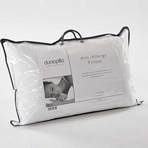Dunlopillo Pillow Latex Covered with Anti Allergy Fibre, White