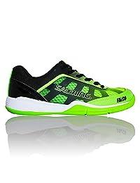 Salming Falco Junior Indoor Court Shoe (Green/Black)