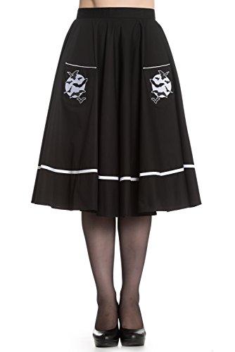 Hell-Bunny-Full-Moon-Bats-Swing-Skirt