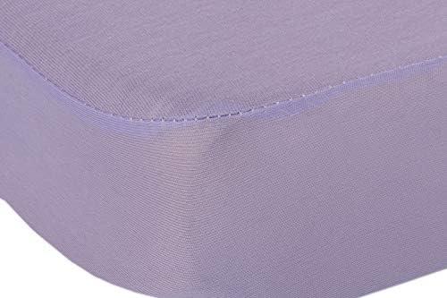 BSensible Tencel Drap housse protecteur imperméable et respirant , Mauve , 120 x 190 cm