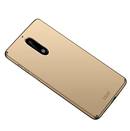promo code bf249 1d60c Roxel Nokia 5 Back Cover 4 Cut All Sides Protection Sleek Ipaky Gold Hard  Case Back Cover for Nokia 5