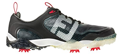 Men's Footjoy Freestyle Golf Shoes Wide Black/Red Size 8 ...