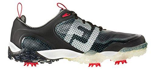 FootJoy Freestyle Mens Golf Shoe (Previous Season) - Black/White/Red (9.5 D(M) US)