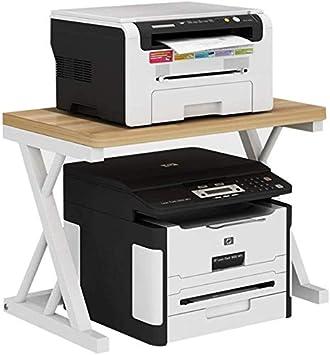 AZWE Impresora de sobremesa Soportes impresora Estantería de ...