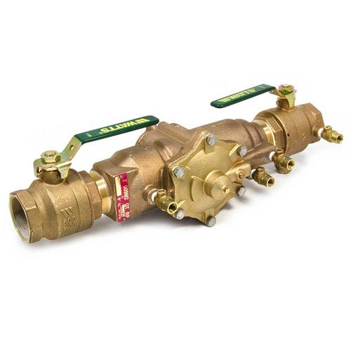 Watts 1-1/4'' 009M2 Backflow Preventer Reduced Pressure Zone Assembly RPZ 1 1/4 009M2-QT 0062920 62920