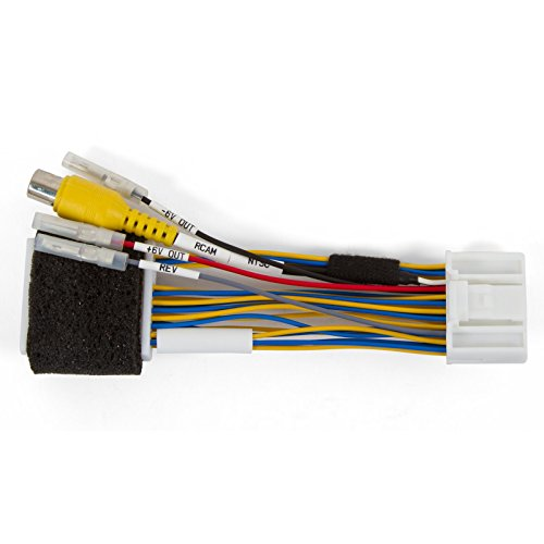 Germes Lab. Rear View Camera Connection Cable for Renault Clio Sandero Trafic Opel Dacia with MediaNav Monitor
