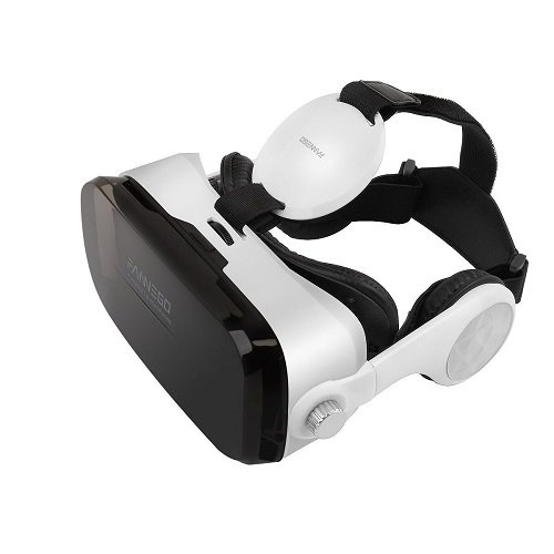 FANNEGO VR Headset, VR Goggles with Stereo Headphone Compatible with IOS & Android 3.5''-6.0'' Cellphones by FANNEGO (Image #3)