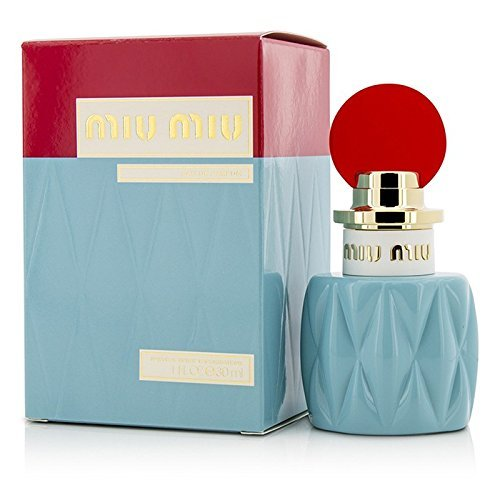 Miu Miu Women Eau de Parfum Spray, 1 Ounce