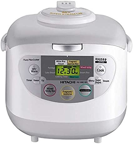 Hitachi olla de arroz extranjero RZ-VMC10Y 5.5 合 220V-240V: Amazon.es: Electrónica