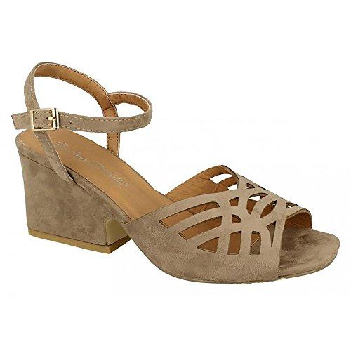 Michelle Noir Chaussures Anne Chunky Femme 8BOq6
