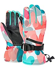 Winter Gloves for Men Women, Coldproof Ski Gloves Thermal Insulated Anti Slip Touchscreen Snowboarding Gloves for Motorcycle Cycling Riding Running Climbing Hiking Outdoor Sports